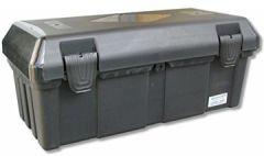 Deichselbox mit Verschlüssen, Werkzeugkasten für Staukiste ca. 30 ltr Anhängerbox, Daken B23-0