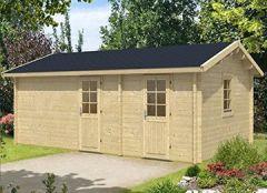 Gartenhaus SANNA ISO 620x420cm 70mm Holzhaus