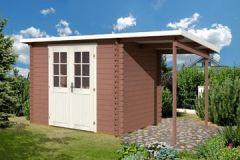 Gartenhaus mit Schleppdach kaufen bei Garteni.de