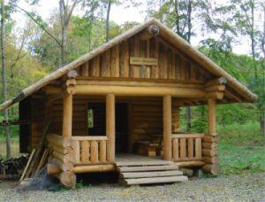 Beispielbild für Blockbohlenhäuser für den Garten