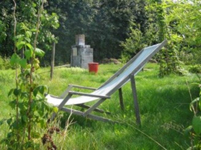 Oordnad trädgård ger harmoni