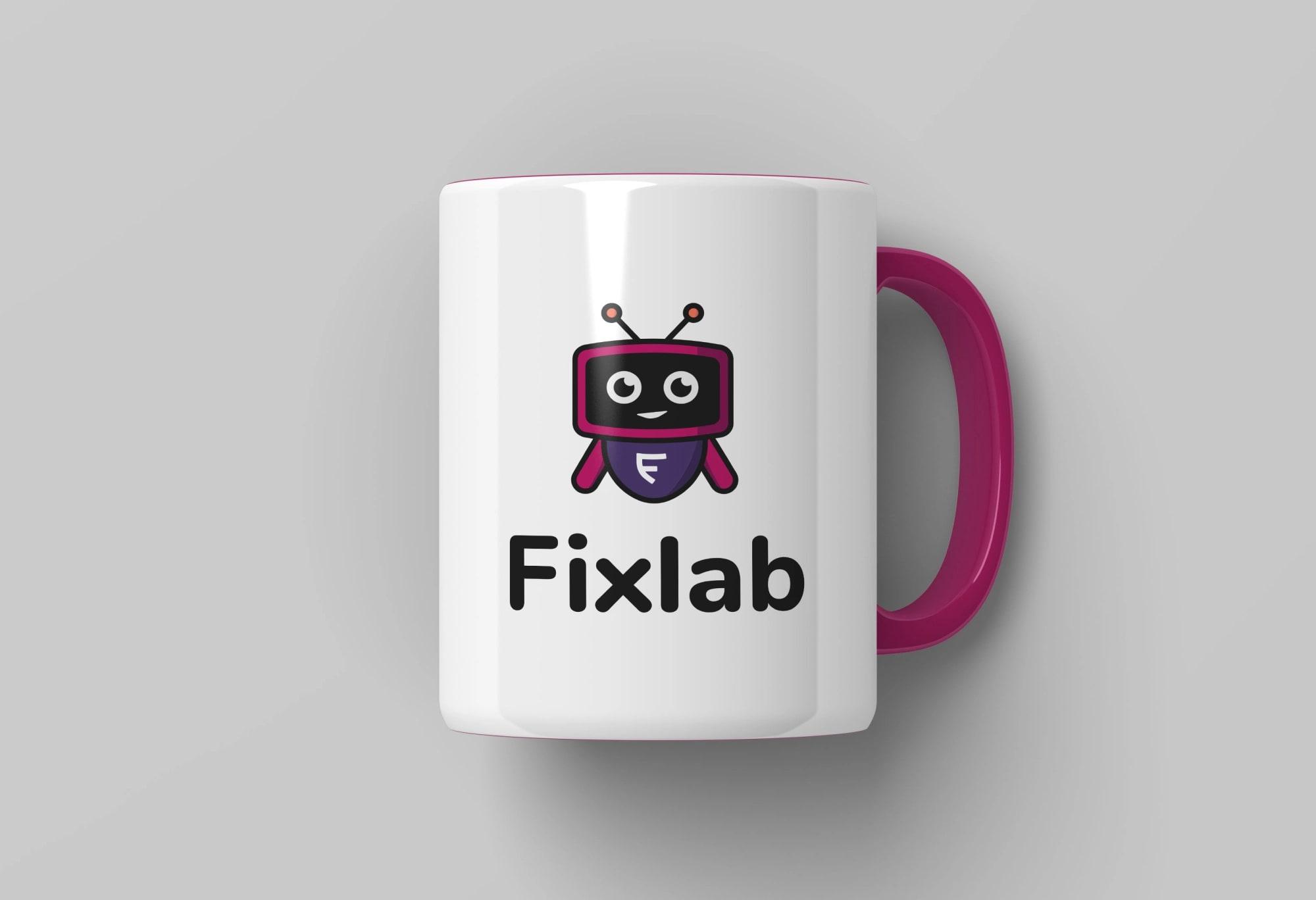 Fixlab.io arculat és UI dizájn