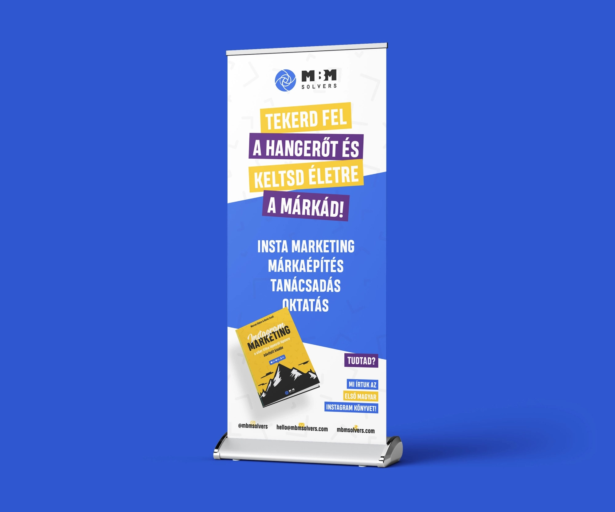 MBM Solvers könyvborító és offline megjelenés