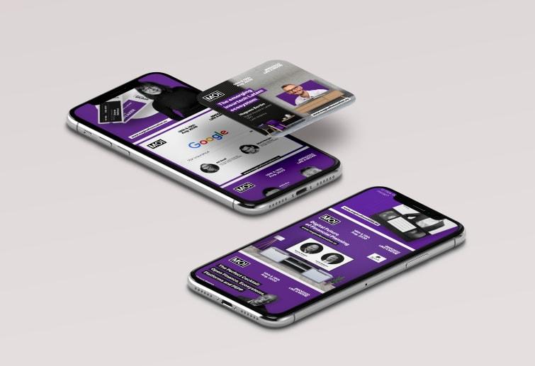 MOI2020 social media megjelenés dizájnja