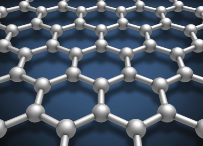 Carbon which is a million times thinner than paper, and the strongest material in the world.
