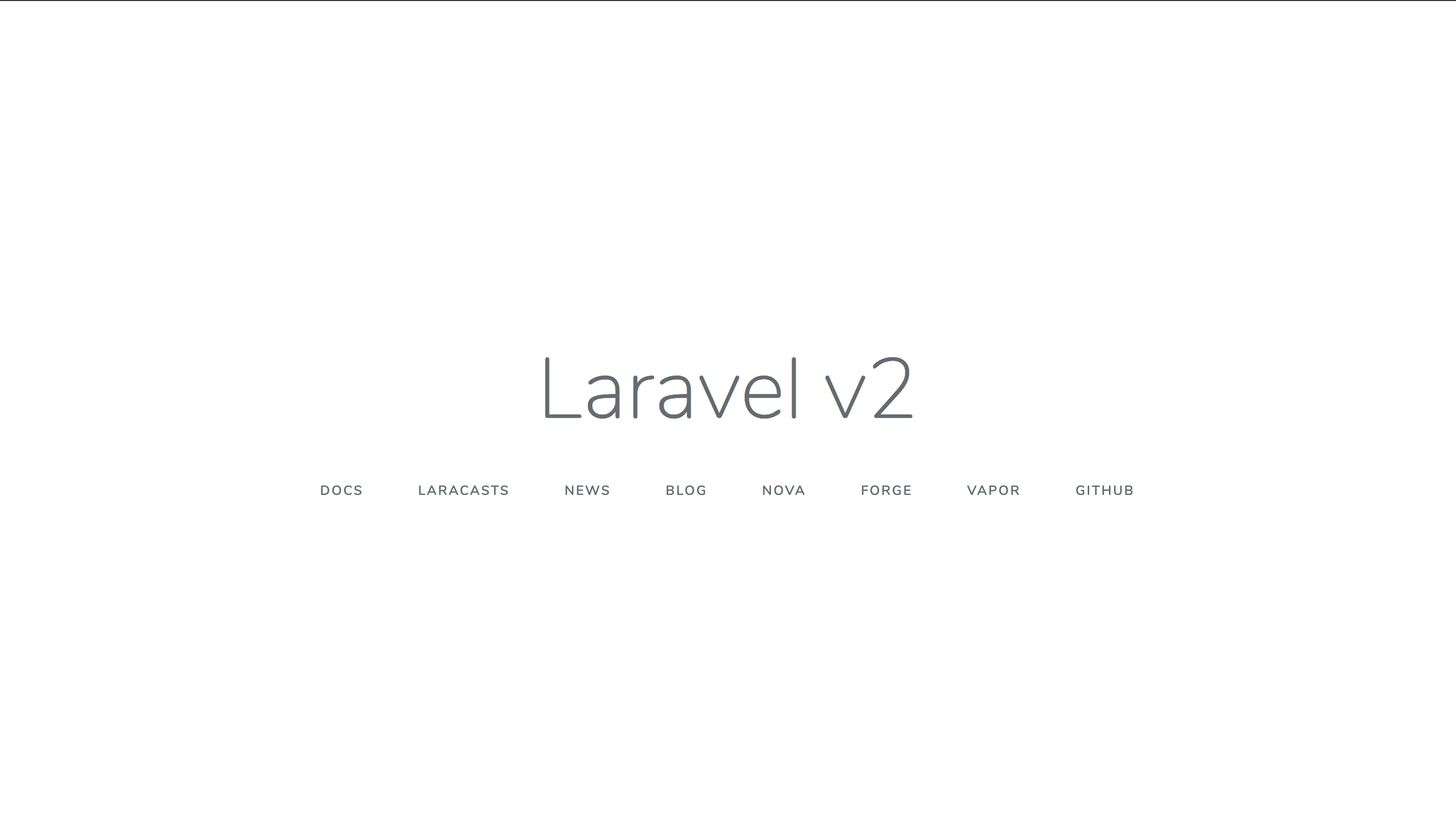 Updated Laravel App
