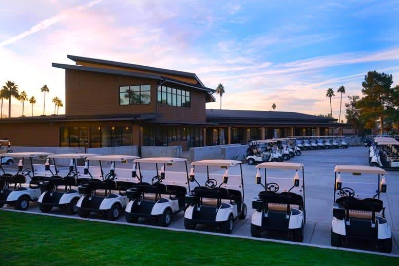 GCU golf carts