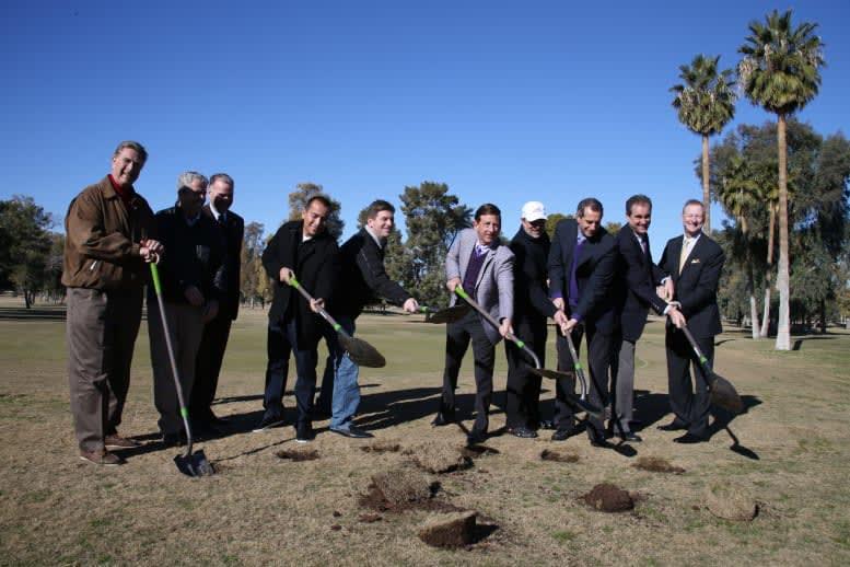 GCU golf course breaking ground