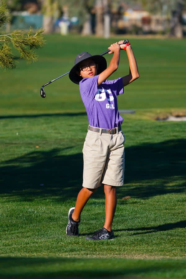 junior GCU golfer