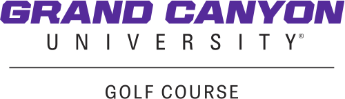 Grand Canyon University Golf Course logo in footer
