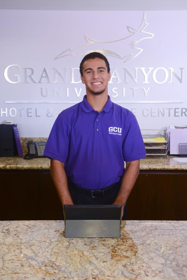 Hospitality Management student