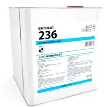 Купить Клей Forbo Eurocol 236 Eurosol Contact Plus 3,8 кг