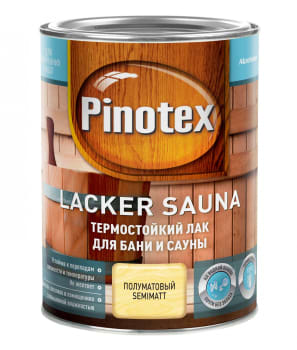 Купить Pinotex Lacker Sauna, 1 л