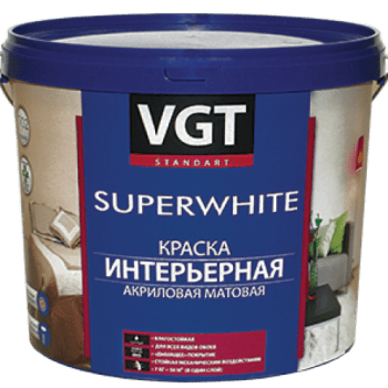 Купить VGT ВД-АК-2180 Superwhite (супербелая), 3 кг