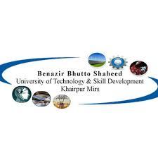 Benazir Bhutto Shaheed University of Technology and Skill Development Logo