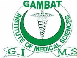 Gambat Institute of Medical Sciences Logo