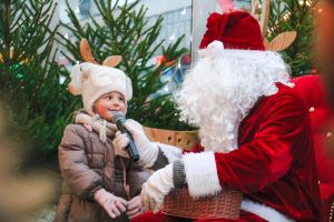 Atrakcje dla dzieci w Szczecinie podczas jarmarku bożonarodzeniowego