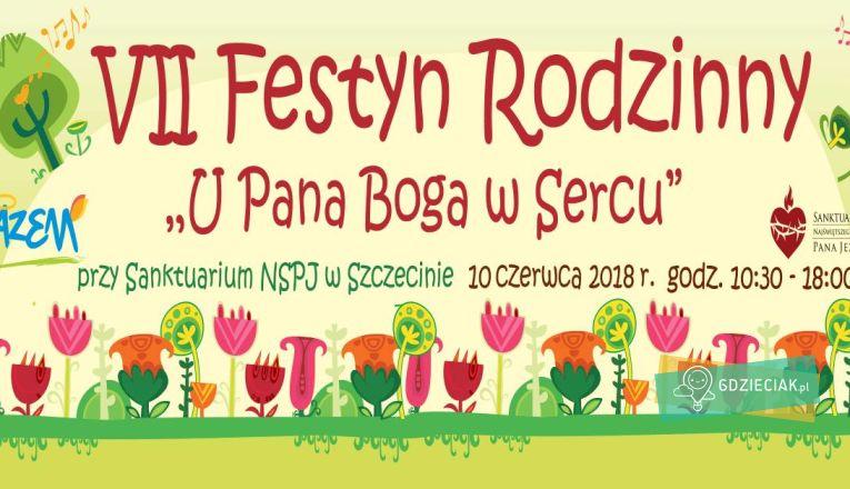 """Festyn Rodzinny """"U Pana Boga w Sercu"""" - atrakcje dla dzieci w Szczecinie"""