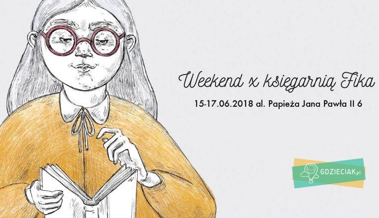 Weekend z księgarnią FiKa - atrakcje dla dzieci w Szczecinie