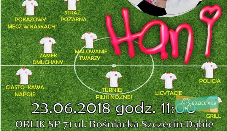 Charytatywny mecz dla Hani - atrakcje dla dzieci w Szczecinie