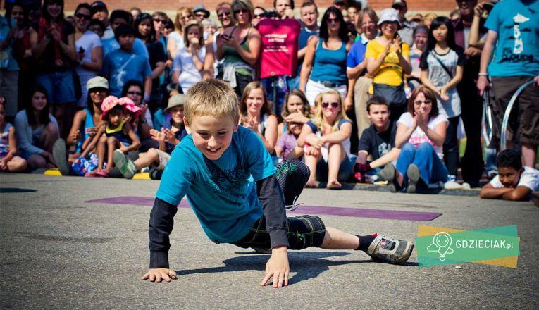 Pokazy Break Dance w MOK Szczecin - atrakcje dla dzieci w Szczecinie