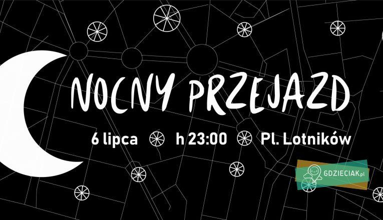 Nocny przejazd rowerowy z okazji urodzin Szczecina - atrakcje dla dzieci w Szczecinie