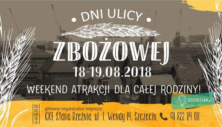 Dni ulicy zbożowej - atrakcje dla dzieci w Szczecinie