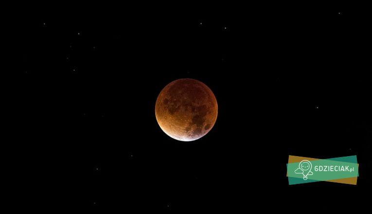Zaćmienie Księżyca – warsztaty astronomiczne w INKU - atrakcje dla dzieci w Szczecinie