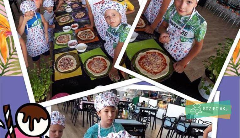 Warsztaty robienia pizzy w Kids Arenie - atrakcje dla dzieci w Szczecinie