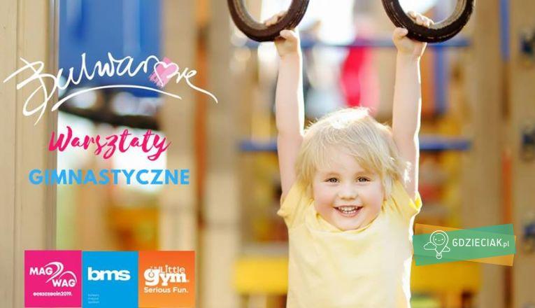 Bezpłatne warsztaty gimnastyczne na bulwarach - atrakcje dla dzieci w Szczecinie