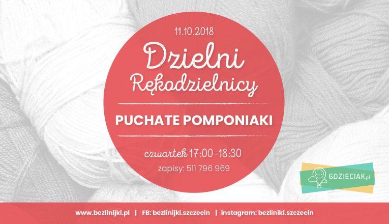 Pomponiaki – warsztaty plastyczne dla dzieci - atrakcje dla dzieci w Szczecinie