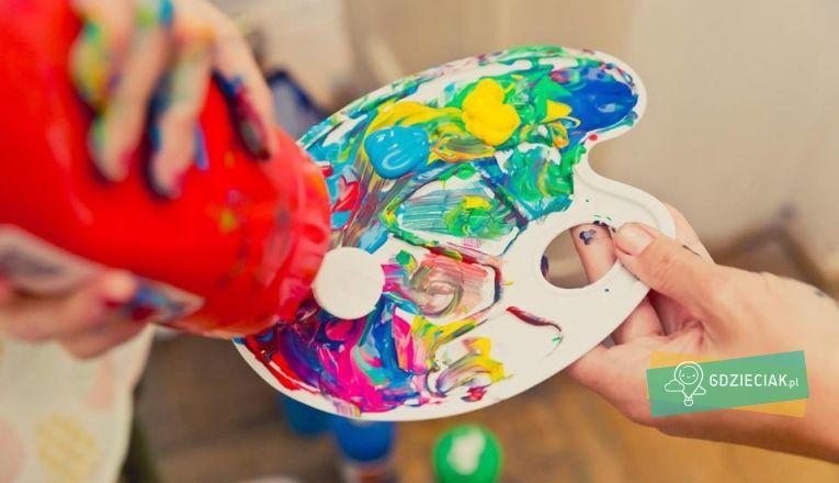 Po ścianie malowanie – warsztaty plastyczne w 13 Muzach - atrakcje dla dzieci w Szczecinie