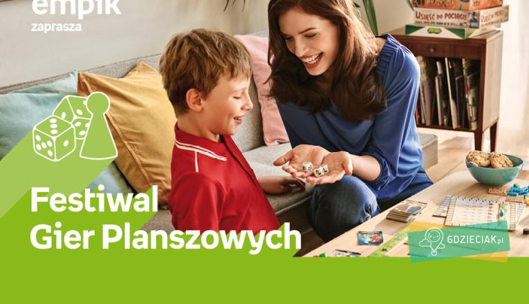 Festiwal gier planszowych w Empiku - atrakcje dla dzieci w Szczecinie