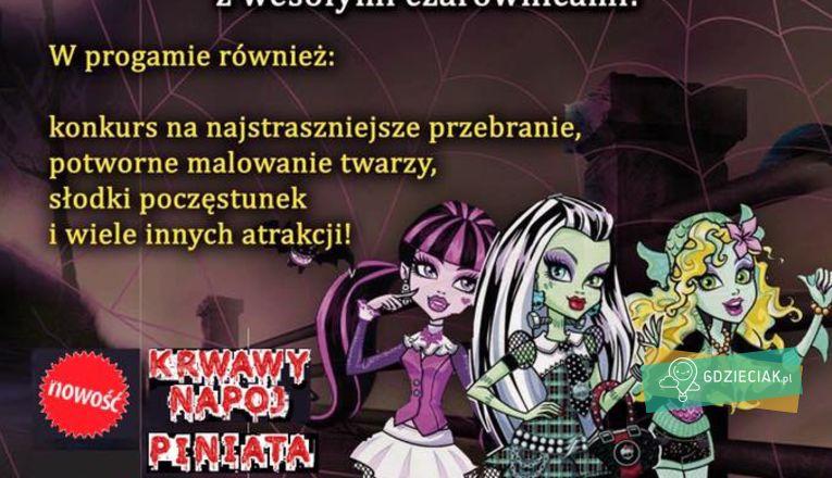 Halloweenowy bal w bawialni Madagaskar - atrakcje dla dzieci w Szczecinie