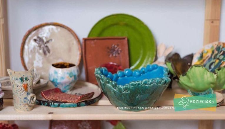 Zajęcia ceramiczne dla dzieci i dorosłych - atrakcje dla dzieci w Szczecinie