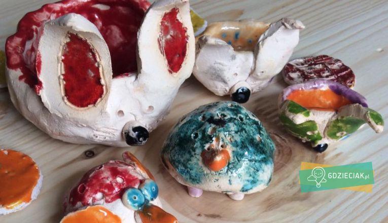Zajęcia ceramiczne dla dzieci od 10 do 12 lat - atrakcje dla dzieci w Szczecinie