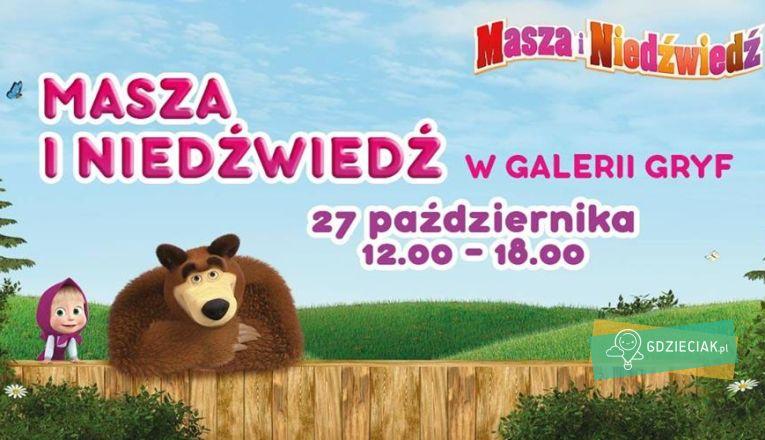Masza i Niedźwiedź w Galerii Gryf - atrakcje dla dzieci w Szczecinie
