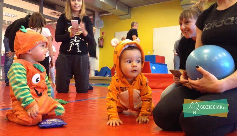 Bal Halloweenowy na 4 urodziny The Little Gym Szczecin - atrakcje dla dzieci w Szczecinie