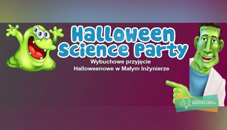 Halloween Science Party w Małym Inżynierze - atrakcje dla dzieci w Szczecinie