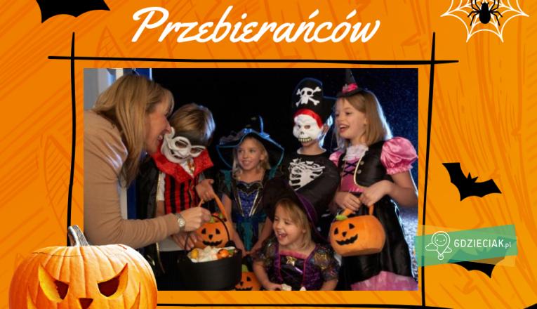 Halloweenowy bal przebierańców we wrotkarni - atrakcje dla dzieci w Szczecinie