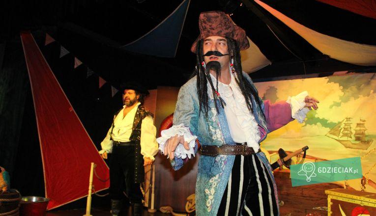 Morskie gadki małej piratki – przedstawienie - atrakcje dla dzieci w Szczecinie