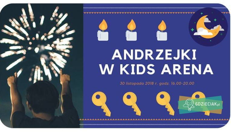 Andrzejki w Kids Arena - atrakcje dla dzieci w Szczecinie