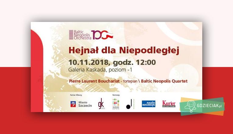 Hejnał dla Niepodległej w Kaskadzie - atrakcje dla dzieci w Szczecinie