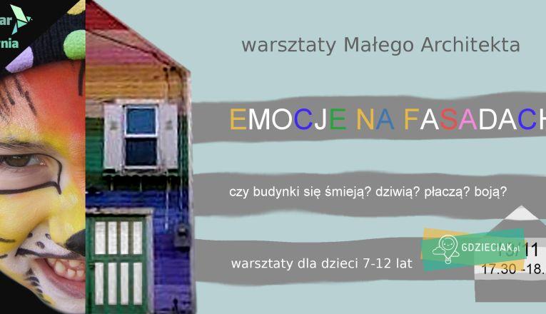 Warsztaty Małego Architekta - atrakcje dla dzieci w Szczecinie