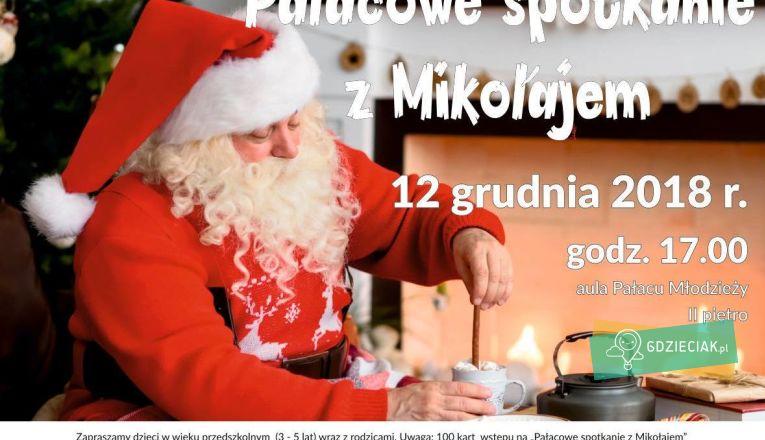 Pałacowe spotkania z Mikołajem - atrakcje dla dzieci w Szczecinie