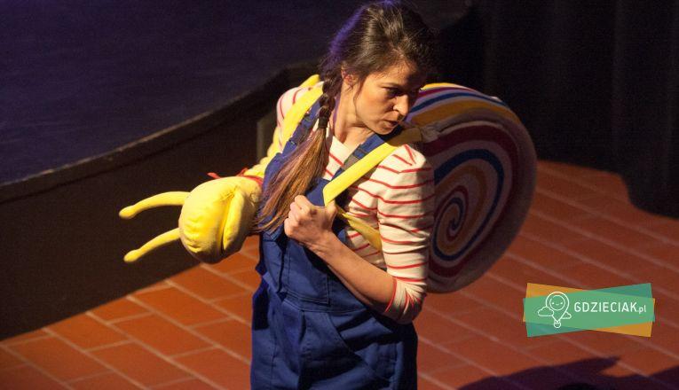 Ślimak – przedstawienie dla maluchów - atrakcje dla dzieci w Szczecinie