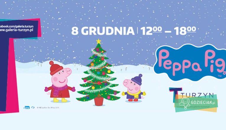 Mikołajki ze świnką Peppą - atrakcje dla dzieci w Szczecinie