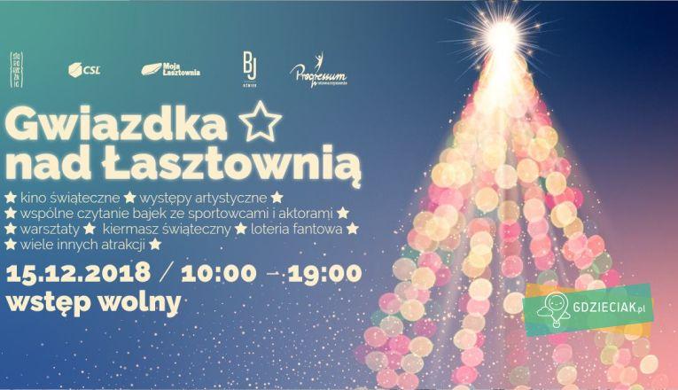 Gwiazdka nad Łasztownią – spotkanie świąteczne - atrakcje dla dzieci w Szczecinie