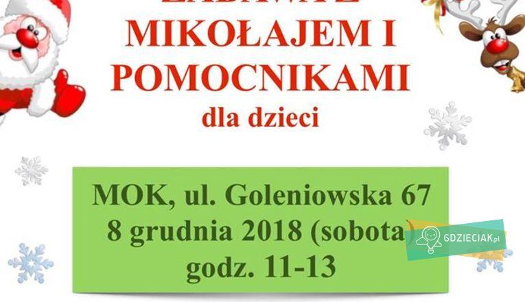 Mikołajki w Dąbiu - atrakcje dla dzieci w Szczecinie
