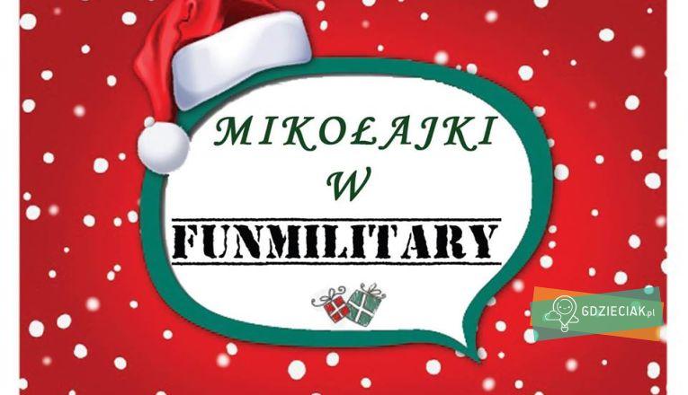 Mikołajki w FunMilitary - atrakcje dla dzieci w Szczecinie